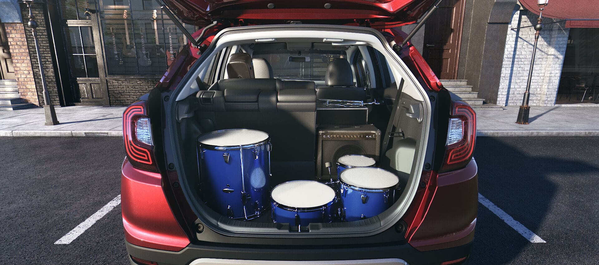 Honda WRV 2021: prijs, interieur, gegevensblad en verbruik